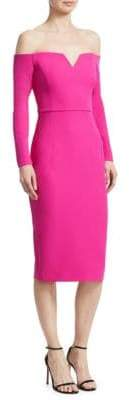 Safiyaa Off-The-Shoulder Cocktail Dress