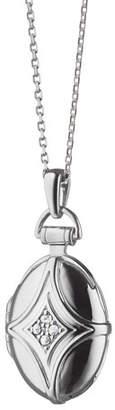 Monica Rich Kosann Petite Bridle Locket Necklace