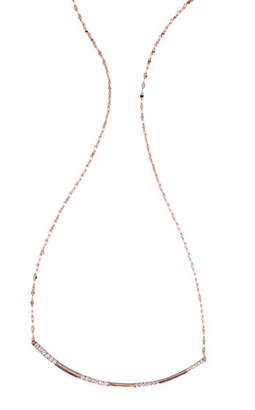 Lana Expose Diamond Pendant Necklace in 14k Rose Gold