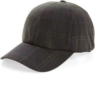 Barbour Tartan Baseball Cap