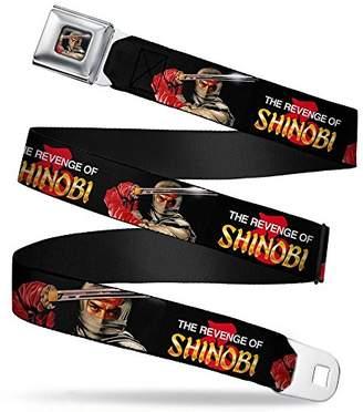 Buckle Down Men's Seatbelt Belt Sega Revenge of Shinobi Wshi002