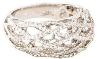 Ring 18K Diamond Lattice