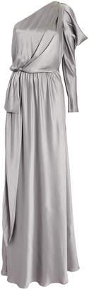 Alberta Ferretti One Shoulder Gown