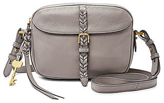 Fossil Kendall Braided Cross-Body Bag $148 thestylecure.com