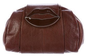 Saint Laurent Yves Saint Laurent Dali Lips Clutch