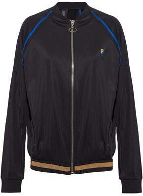P.E Nation The 100m Dash Embroidered Shell Bomber Jacket