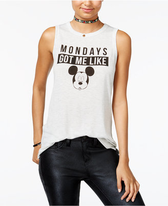 Disney Juniors' Mickey Mouse Graphic Tank Top $24 thestylecure.com