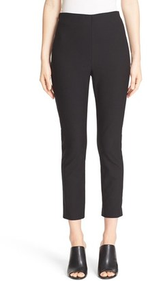 Women's Derek Lam 10 Crosby Crop Stretch Cotton Twill Pants $295 thestylecure.com
