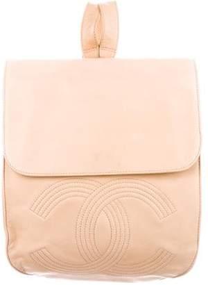 Chanel Lambskin CC Backpack