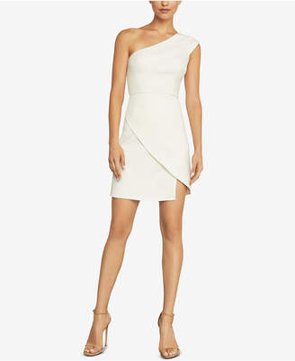 BCBGMAXAZRIA Aryanna One-Shoulder Dress