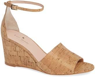 Kate Spade Halo Strap Wedge Sandal