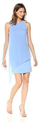 Tahari by Arthur S. Levine Women's Chiffon Overlay Dress