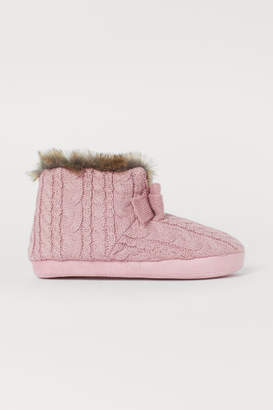 H&M Padded Slippers - Pink