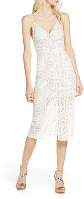Finders Keepers Sofia Lace Cocktail Dress