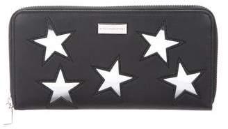 Stella McCartney Vegin Leather Stars Wallet