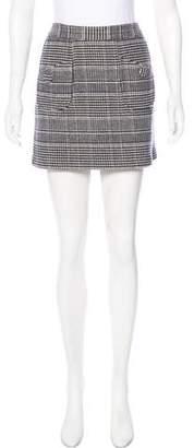 ADAM by Adam Lippes Plaid Mini Skirt