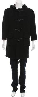 Burberry Wool-Blend Toggle Coat