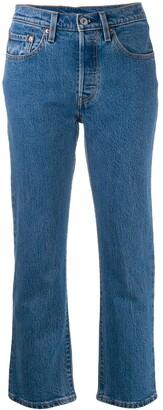 Levi's stonewash jeans