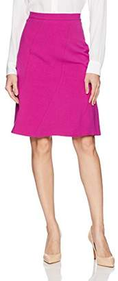 Ellen Tracy Women's Seamed Skirt
