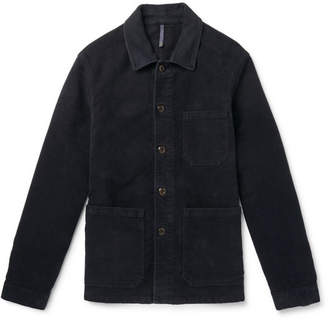 Incotex Cotton-Moleskin Shirt Jacket
