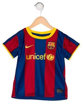 Nike Boys' Striped Soccer Jersey