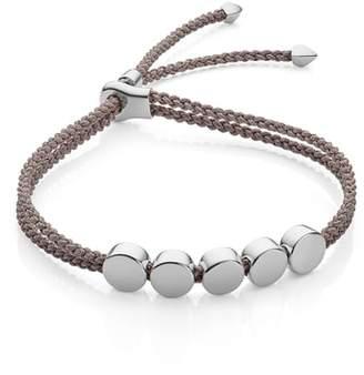 Monica Vinader Engravable Beaded Friendship Bracelet
