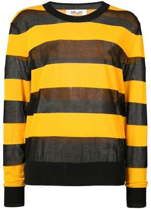 Diane von Furstenberg colour block pull-over