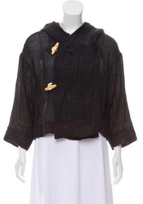 Ulla Johnson Linen Hooded Jacket