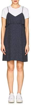 ATM Anthony Thomas Melillo Women's Polka Dot Silk Dress