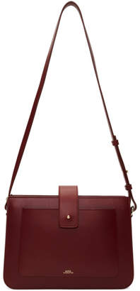 A.P.C. Red Albane Bag