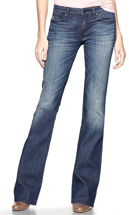 Gap 1969 Sexy Boot Button-Flap Jeans