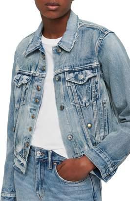 AllSaints Lexi Snap Denim Jacket