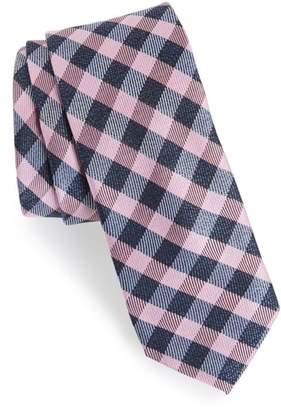 1901 Avers Plaid Silk Tie