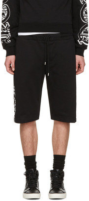 McQ Alexander Mcqueen Black Dart Lounge Shorts $270 thestylecure.com