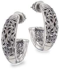 Konstantino Sterling Silver Huggie Earrings