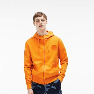 Lacoste Men's LIVE Hood Sweatshirt With Badge
