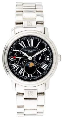 Frederique Constant Persuasion Business Timer Watch
