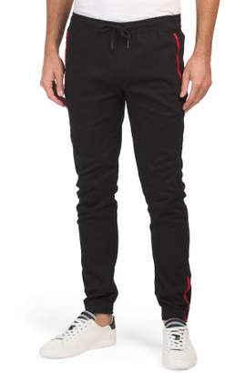 Ankle Zip Twill Joggers