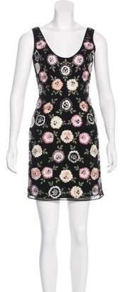 Needle & Thread Sleeveless Embroidered Dress