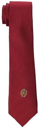 Lauren Ralph Lauren Kids Solid Tie w/ Crest (Big Kids)