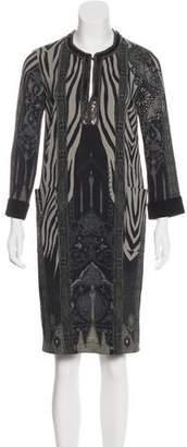 Etro Embellished Printed Dress