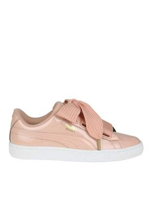 Puma Sneakers basket Heart In Pink Patent