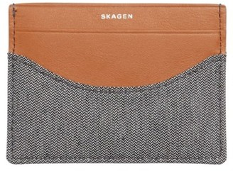 Men's Skagen Card Case - Black $35 thestylecure.com