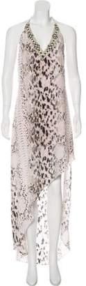 Haute Hippie Silk Halter Dress w/ Tags multicolor Silk Halter Dress w/ Tags