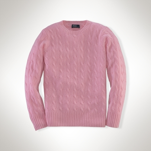 Cabled Cashmere Sweater