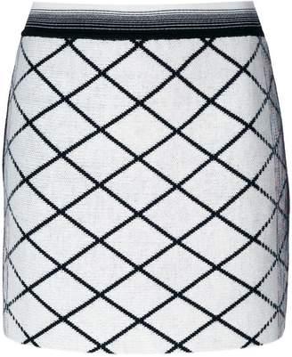 Missoni diamond patterned mini skirt