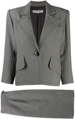 Saint Laurent Pre-Owned 1980's structured shoulders blazer