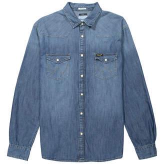 Wrangler Men's Western Denim Shirt