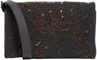 Brunello Cucinelli Leather Monili Cross Body Bag