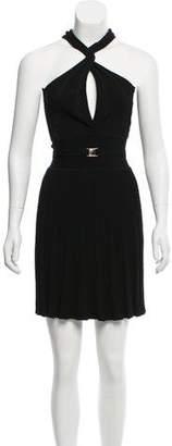 Versace Matelassé Knee-Length Dress w/ Tags